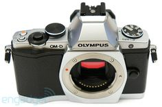 The new Olympus OM-D, another throwback design. I support this trend.