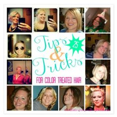 On the blog tonight, 25 {{Hilarious}} Tips & Tricks for Color Treated Hair!! #hair #bbloggers {{Link In Profile}}