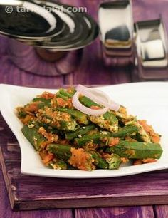 It is common to stuff bhindi with besan and masala powders. But, you can give the popular dish a twist by stuffing it with paneer instead. By using low-fat paneer, you can ensure guilt-free dining too! What makes the Stuffed Bhindi with Paneer all the more delightful is the thoughtful combination of spices, tomatoes and onions, which makes the dish extremely aromatic and tasty.