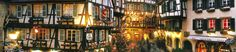 Strasbourg : the oldest Christmas market in France Founded in 1570, Strasbourg Christmas market is without a doubt the most famous of all thanks to its size and location in the capital of Europe.