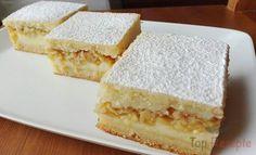 Saftiger Vanille-Apfelkuchen   Top-Rezepte.de