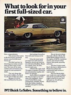 1972 Buick LeSabre 4-Door Hardtop