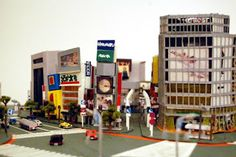 Lloyd_Blake_Digital_Enviroments: villes de papier