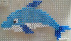 Dolphin hama perler beads by Les Loisirs de Pat
