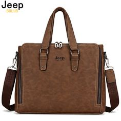 Jeep buluo الأزياء vintga الرجال nubuck الجلدية حقيبة العلامة التجارية الشهيرة الكتف رسول حقائب يد الرجال السببية 8022