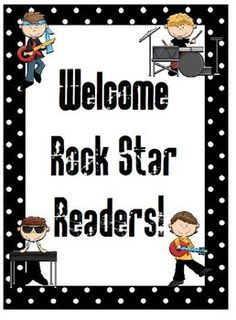 $7 Read Like A Rock Star Library/Media Center Pack
