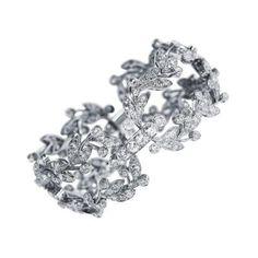 Cartier Belle Epoque Diamond Platinum Bracelet by   Cartier