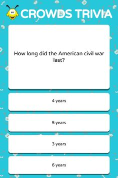 American Civil War Trivia Quiz Q&A The story of the North versus the South in the American Civil War continues to intrigue many students today. Not everyone is fully aware of what happened at… Funny Quiz Questions, Question Quiz, Trivia Questions And Answers, Quizzes Games, Quizzes For Fun, Trivia Games, Wtf Fun Facts, Funny Facts, Science Trivia