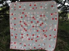 Dashes in the Woods Quilt | FaveQuilts.com