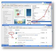 Aplicaciones y extensiones de Chrome para uso d...