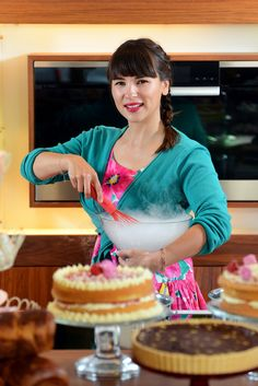 Cooking up a steam with Rachel Khoo