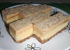 Fashion and Lifestyle Sweet Desserts, Just Desserts, Sweet Recipes, Dessert Recipes, Bread Dough Recipe, Czech Recipes, No Bake Cake, Sweet Tooth, Cheesecake