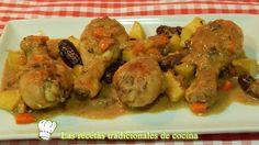 Pollo en salsa con dátiles y manzana receta fácil http://blgs.co/M4H8J7