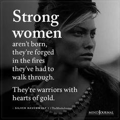 Strong Women Aren't Born
