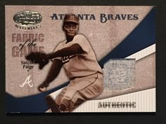 SATCHELL PAIGE 2004 LEAF CLASSIFIED FABRIC of the GAME JERSEY 66/100 NEGRO LG