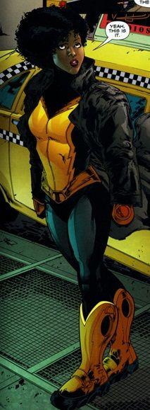 Anissa Pierce/Thunder. Daughter of Black Lightning. DC Comics. The Outsiders.