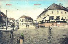1910 körül. Szarvas tér Budapest Hungary, Tao, Old Photos, Nostalgia, The Past, History, Landscapes, Travel, Classic