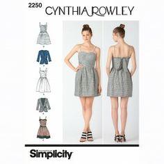 Simplicity 2250-H5 patroon op textielstad