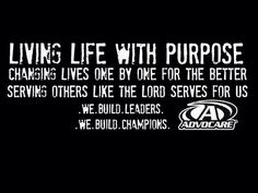 AdvoCare! Create the life you want while helping others get fit and debt free!    www.thechampionslifestyle.com