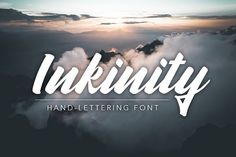 Inkinity | Hand-lettering Font by Angelo Konofaos on @creativemarket