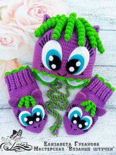 Одноклассники – Knitting patterns, knitting designs, knitting for beginners. Bonnet Crochet, Crochet Gloves Pattern, Crochet Cap, Crochet Slippers, Crochet Patterns Amigurumi, Baby Knitting Patterns, Crochet Baby Beanie, Crochet Kids Hats, Crochet Crafts