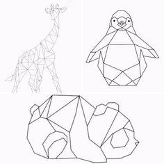 Deze week deelt Lianne hoe ze de muur van de slaapkamer van haar dochter Fem versierde met geometrische vormen en origami dieren van washi tape. Het was een flinke klus.