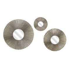 Piper Round Mirrors (Set of 3)