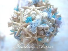 Hey, I found this really awesome Etsy listing at https://www.etsy.com/listing/197465275/beach-wedding-shell-bridal-bouquet-and