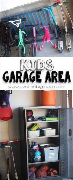Kids Garage Area - h