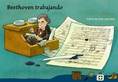 beethoven symphony no. Music Class, Music Education, Music For Kids, Teaching Music, Music Lessons, Musicals, Songs, Comics, Children