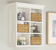 Newport Wall Cabinet, we could put this over the toilet for extra storage.  This could also work for the spare bath.