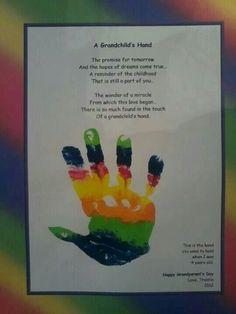 A grandchilds hand