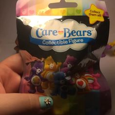 "Care Bear collectible figures from Just Plays Care Bears blind bags! Available at Walmart, Target & Toys""R""Us!"