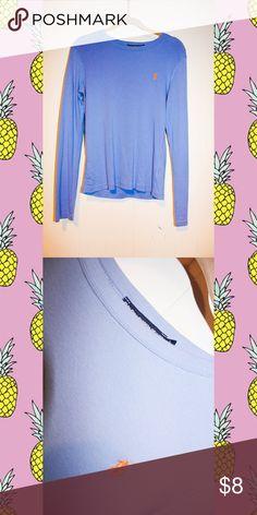 Ralph Lauren Top Long sleeve t-shirt.  Runs small.  Would fit a petite, probably a S/M. Ralph Lauren Tops Tees - Long Sleeve