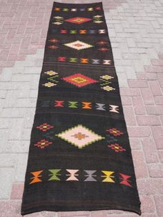Anatolia-Turkish-Antalya-Kilim-Runner-28-7-x-102-7-Area-Rug-Runner-Carpet-Wool