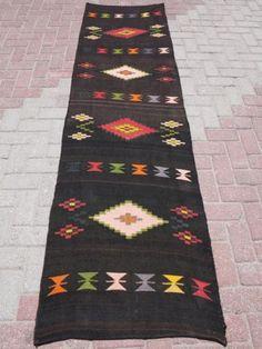 Anatolia-Turkish-Antalya-Kilim-Runner-28-7-x-102-7-Area-Rug-Runner-Carpet-Wool