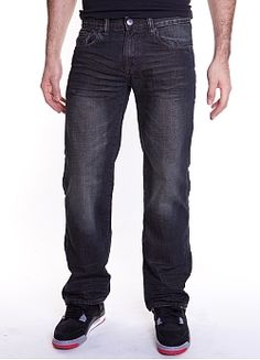 Eckō Unld. Brief Encounter Wash Jean - Marc Ecko Enterprises #ecko #mens #style