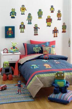 Robot drawer pulls oh boy pinterest drawers robots for Robot room decor