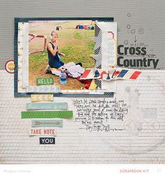 Cross+Country+by+maggie+holmes+at+@Studio_Calico