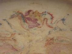 Dettaglio del  Bacino marmoreo con Nereidi (podaniptèr)  della seconda metà del IV° secolo a.C.