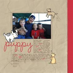 1 photo digital layout created with Stampin' Up!'s My Digital Studio (MDS)