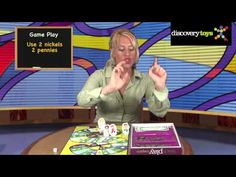 Discovery Toys -  Money! Money! Game Make it a family board game night while your children are learning how to count money!