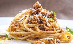 Pasta Ca Muddica - Špagety s ančovičkama a strouhankou