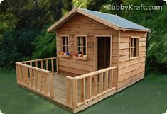 Rainbow Lodge Deluxe Cubby House
