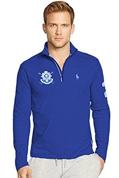 Polo Ralph Lauren Black Watch Pima Cotton Soft-Touch Blue Pullover