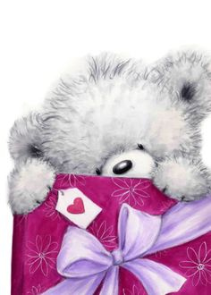 PERSONALISED TEDDY SPECIAL FRIEND TEDDY MESSAGE BOX #8