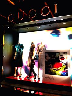 LK By Lincoln Keung: GUCCI Window Display in the Harbour City (Hong Kong)