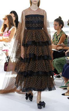 Delpozo Spring Summer 2016 Look 39 on Moda Operandi
