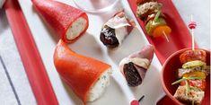Les tapas du sud-ouest de Philippe Etchebest Chefs, Mini Appetizers, Best Chef, Fresh Rolls, Catering, Sushi, Cooking, Healthy, Ethnic Recipes