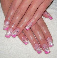 gel nails by monka77 - Nail Art Gallery nailartgallery.nailsmag.com by Nails Magazine www.nailsmag.com #nailart